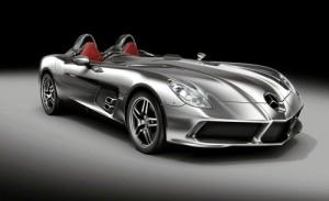 Mercedes-Benz SLR Stirling Moss, Mercedes-Benz, SLR, Stirling Moss, édition limitée, rihanna, chris brown, cadeau, anniversaire, cadeau d'anniversaire, 1million, star, people, chanteuse