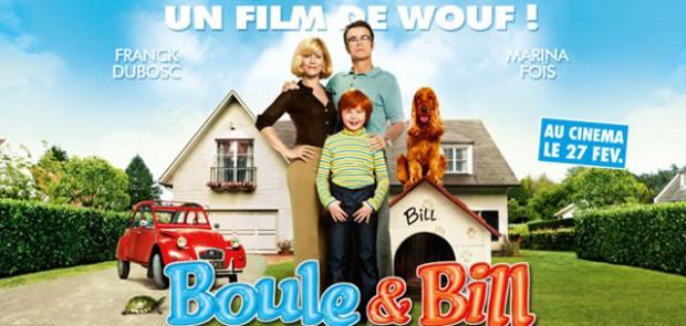 Boule et bill, 2CV, BD, bande dessinée, film, cinéma, franck dubosc, marina fois
