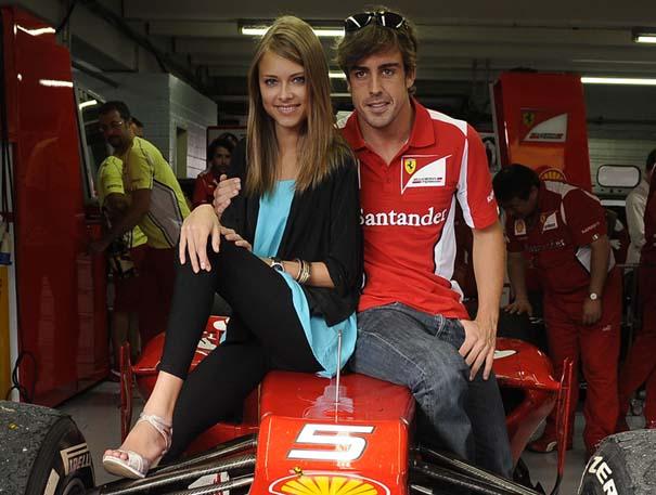 Dasha Kapustina, fernando alonso, F1, formule 1, femme F1, Femme paddock, sexy, grand prix, top 10