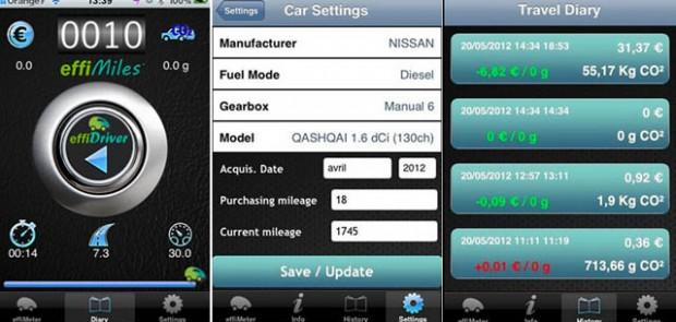 effiDriver, iPhone, iPad, application, 4G, 5G, écologie, économie, gratuit, application auto