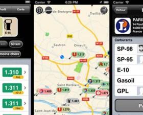 essence Free, application, iPhone, application iphone, essence, carburant, tarif, prix