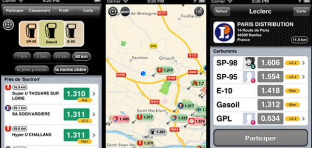 essence Free, application, iPhone, application iphone, essence, carburant, tarif, prix