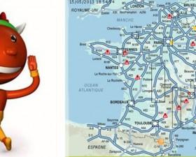 Bison Futé, Pentecôte, week-end, week-end prolongé, trafic, bouchons, embouteillage, prévision