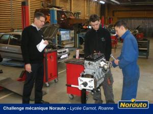 challenge mécanique norauto, norauto, mobivia, mécanique, étudiant, défi