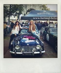 Rallye des Princesses, Jane Birkin, rallye, raid, saint tropez, voiture de collection, voiture fille,