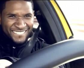 Mercedes, Classe A, 45 AMG, Usher, essai, anneau vitesse, pub, chanteur, Mercedes Classe A 45 AMG,