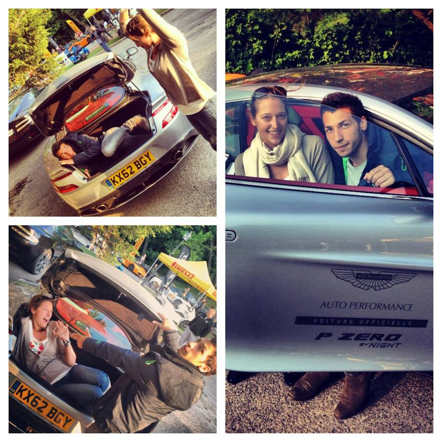Clémence de Bernis, Pirelli, Touquet, rallye, P-zero, Aston martin, Vanquish, arnaud taquet