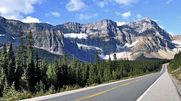 ice Fields Parkway, glacier, Canada, promenade des glaciers, plus belles routes, voyage, monde, Top 20, vacances