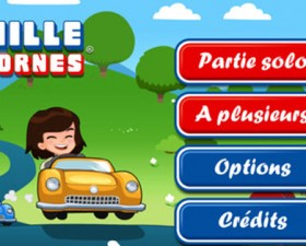 Mille Bornes, 1000 bornes, jeu de société, jeu, application, application iphone, application auto, vacances