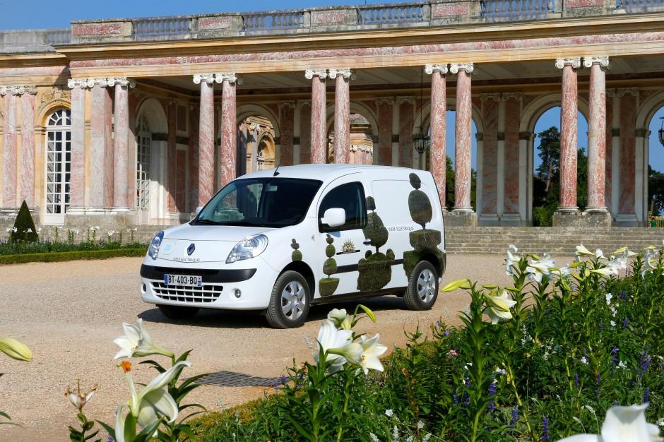 Renault, Twizy, Château de Versailles, partenariat, jardins, Le Nôtre