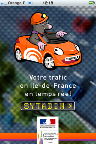 Sytadin, application iphone, application auto, application, trafic, prévision, pratique