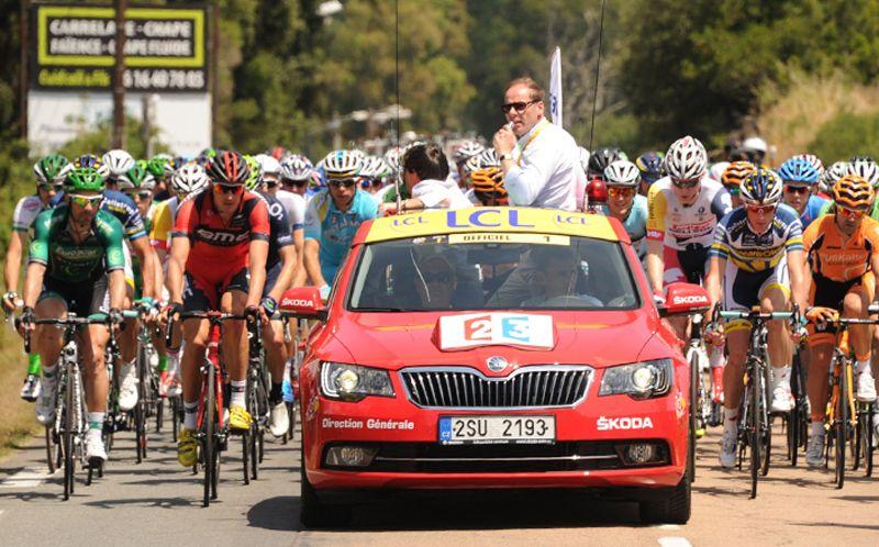 skoda, tour de france, partenaire, sponsor, tour de france 2013, cyclisme, vélo, sport