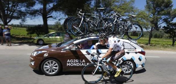 Tour de france, hyundai, ag2r, ag2R la mondiale, cyclisme, vélo, sport, étape, partenariat