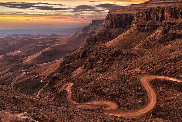 col de sani, plus belles route, monde, voyage, vacances, Afrique du sud, TOP 20