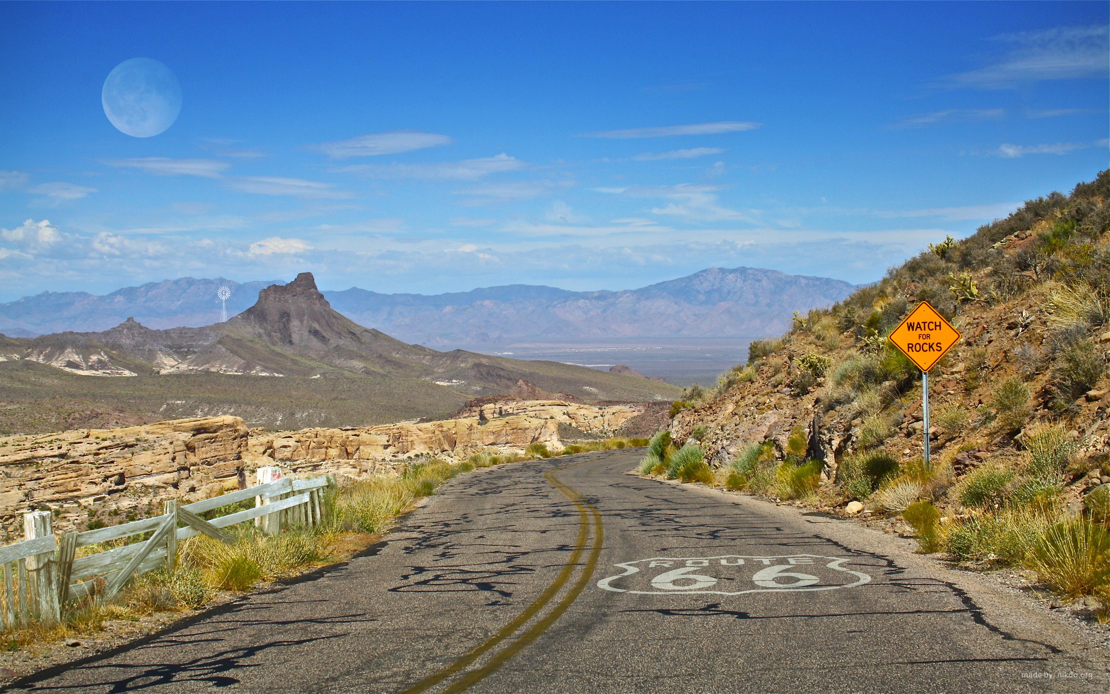 Route 66, routes du monde, plus belles routes, voyage, vacances, monde