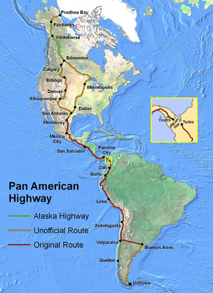 transamericaine, route du monde, plus belles routes, vacances, voyage, amérique, monde