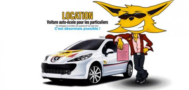 Location de voiture à double commande