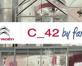 Citroën, C_42, exposition, showroom, voiture, femme, fan, facebook