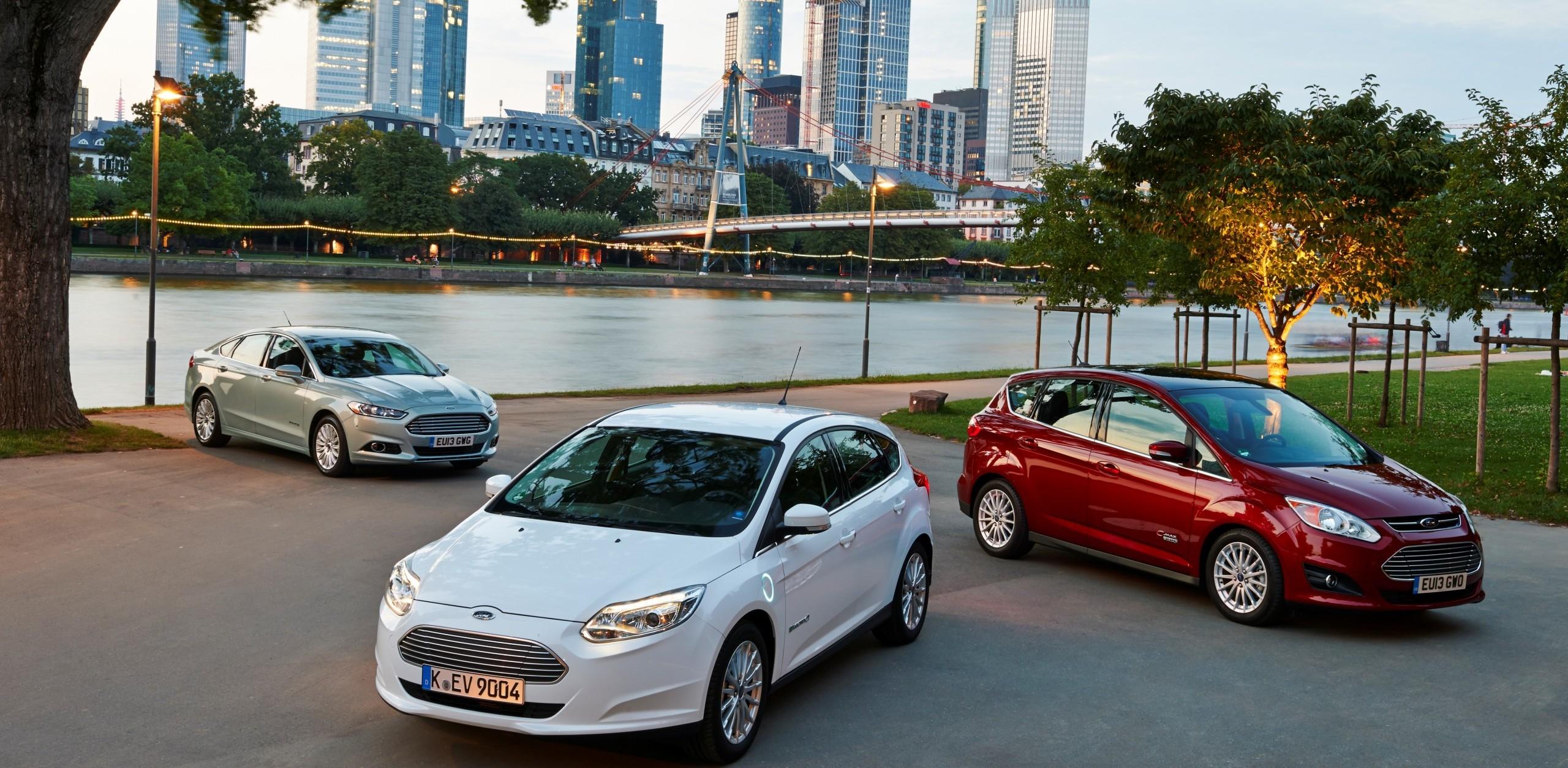 Ford, Focus, Mondeo, C-Max, voiture électrique, hybride, écolo