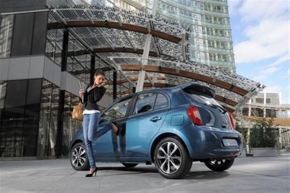 Nissan, micra, citadine, voiture fille, voiture femme, pub, restylage