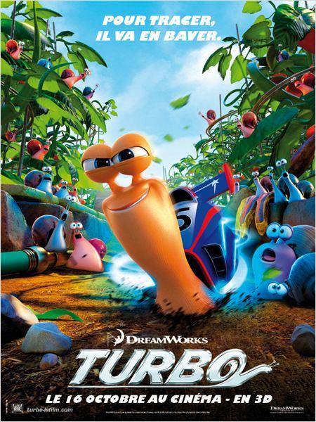 Turbo, film, cinéma, dreamworks, film d'animation, escargot, chevrolet, camaro, partenariat