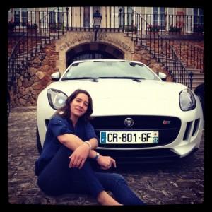 Essai, Jaguar, F-Type, sport auto, circuit, Alexandra du Boucheron