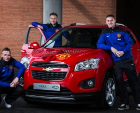 Manchester United, Foot, football, sportif, chevrolet, Trax, édition spéciale