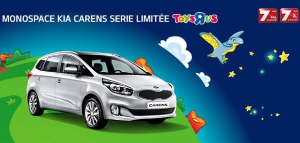 Kia, Carens, Kia Carens, série limitée, série spéciale, Toys'R'Us, monospace, familiale