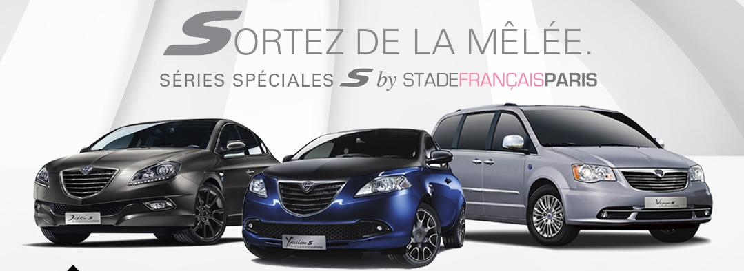 Lancia, Flavia, Stade Français, pink, édition spéciale, cabriolet