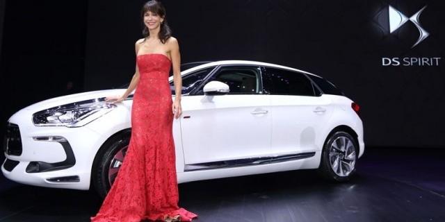 sophie marceau, actrice, star, chine, Citroën, DS5, lancement, production