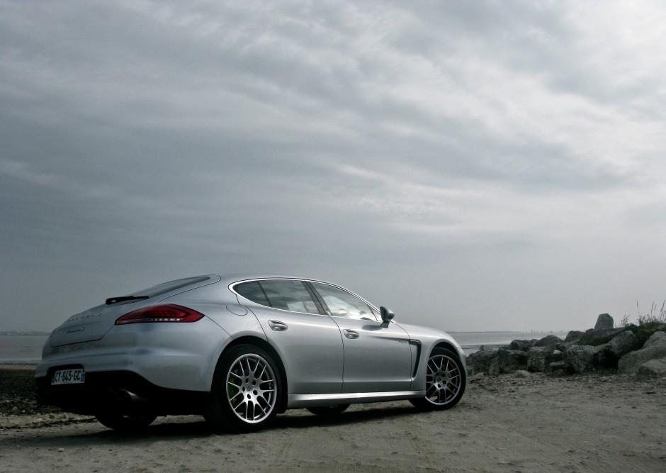 Porsche, Panamera, hybride, auto fille, essai, ile de ré