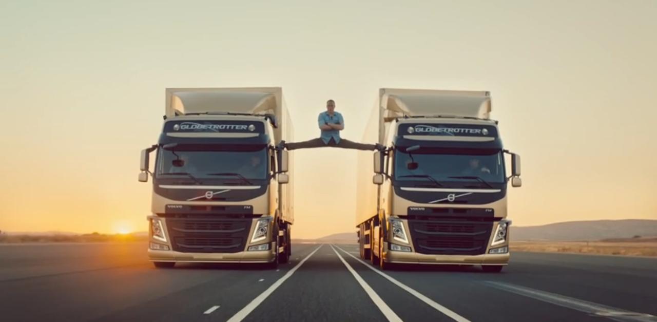 Jean-Claude van Damme, pub, volvo, camion, volvo trucks, volvo FM, acteur, star
