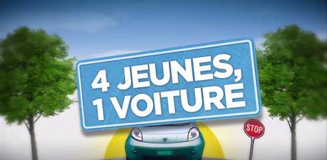 4 jeunes, 1 voiture, programme TV, M6, W9, AXA prévention, sécurité routière