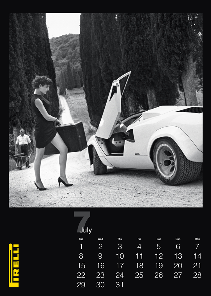 The cal, calendrier pirelli, pirelli, calendrier, anniversaire, 50 ans, édition spéciale, sexy