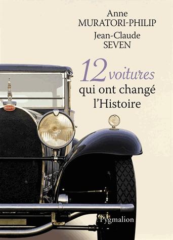 cadeau, cadeau noel, noel, 12 voitures qui ont changé l'histoire, livre