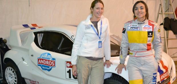 Charlotte Berton, femme pilote, pari sportif, Bwin, sport auto, pilote, trophée andros