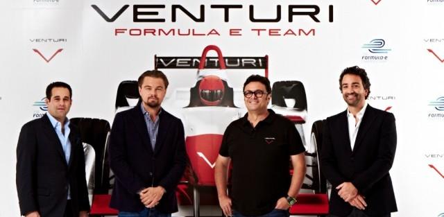 leonardo DiCaprio, venturi, formule E, championnat voiture électrique, FIA,