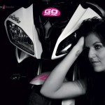 Ornella Ongaro, calendrier, lutte contre cancer, pilote femme, pilote moto, pilote moto femme, sexy