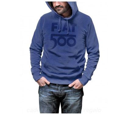 cadeau, noel, cadeau noel, idée, sac, 500, fiat, sweat-shirt, bleu, vert