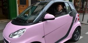 citadine, Smart, barbus, Tailor made, rose, blog voiture femme