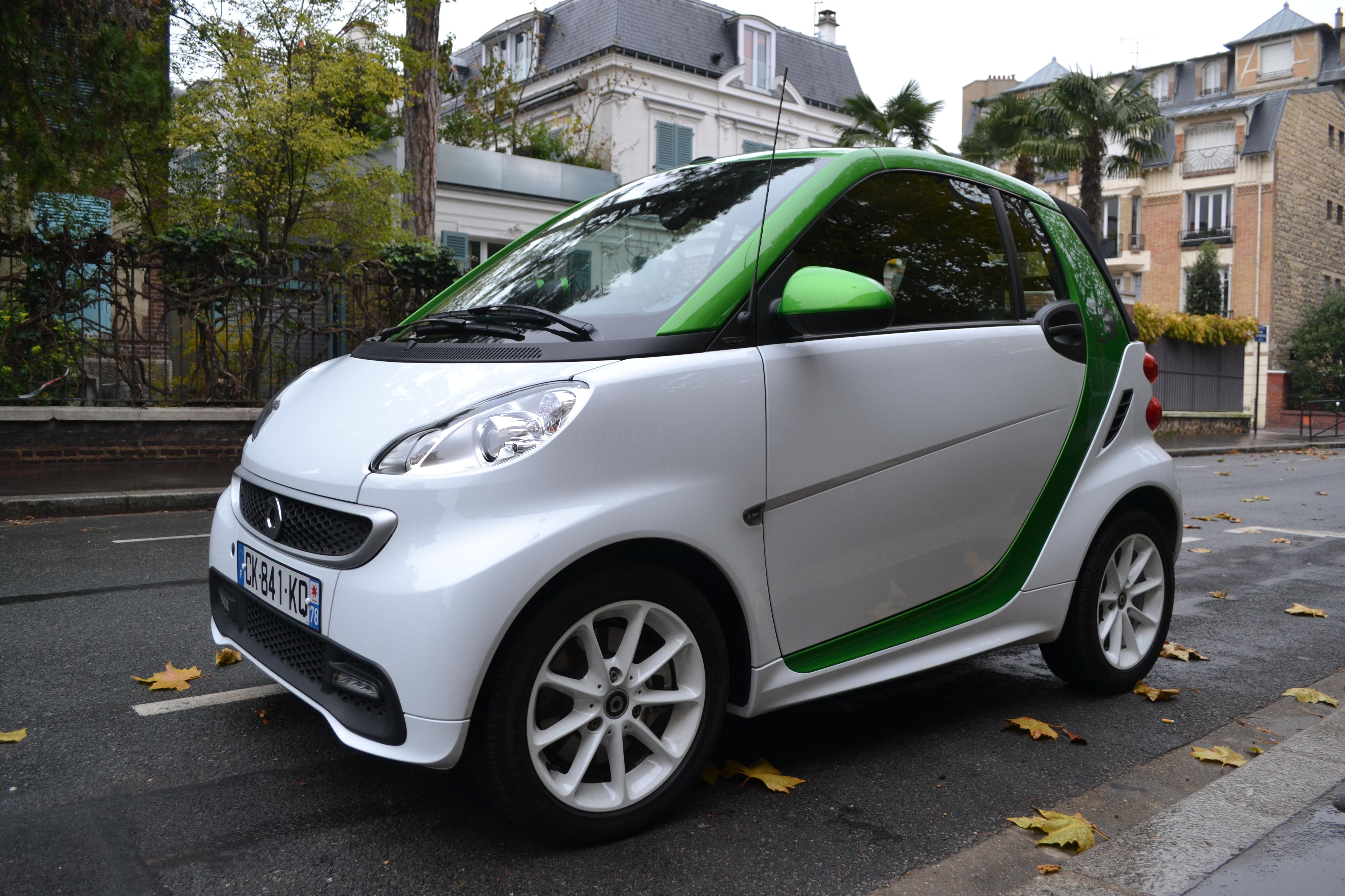 Smart, Fortwo, électrique,electric drive, citadine, voiture électrique, voiture économique, écologie, voiture de ville