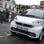 Smart, Fortwo, électrique, citadine, voiture électrique, voiture économique, écologie,