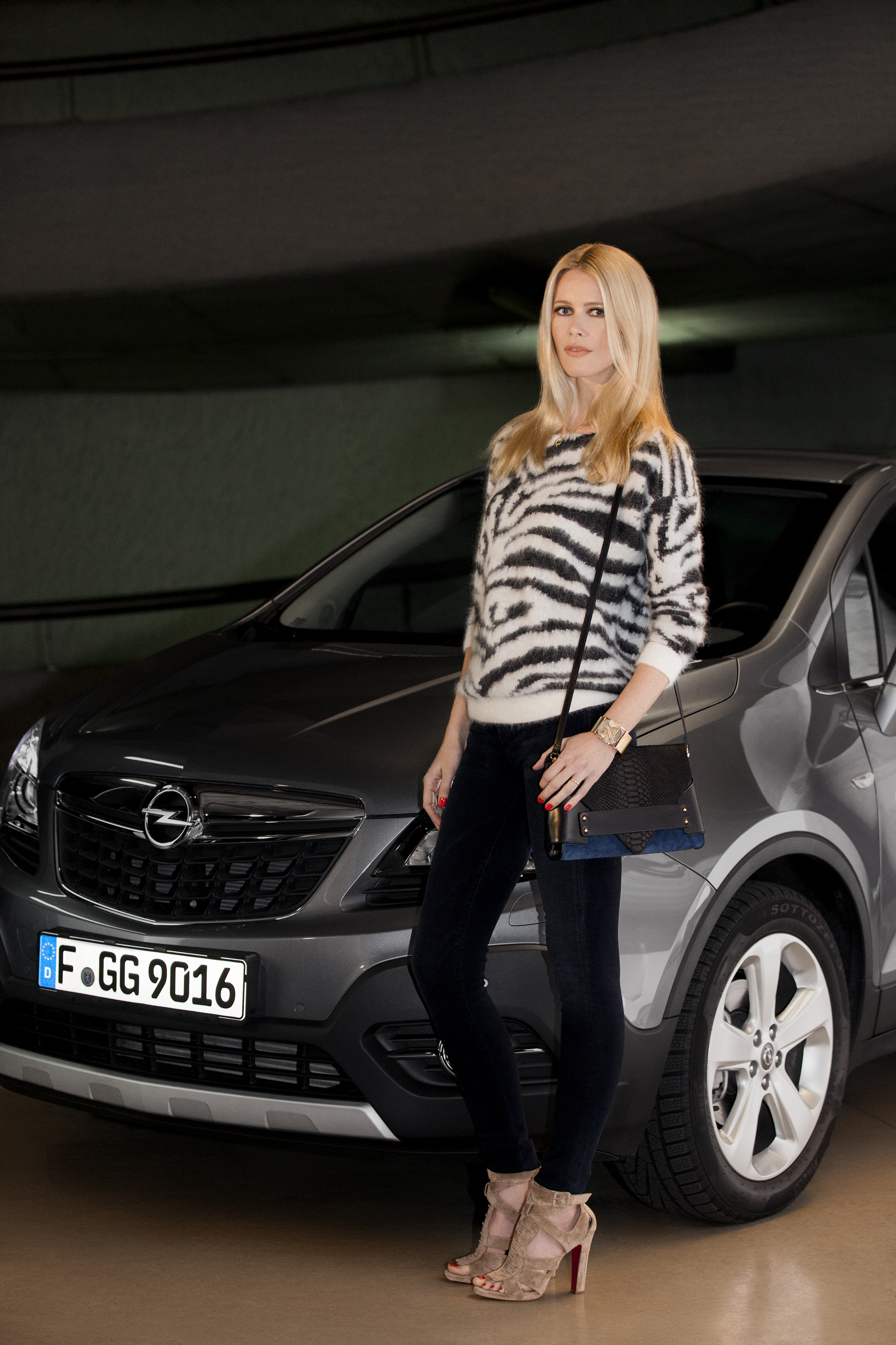 Opel, Claudia Schiffer, mannequin, top model, ambassadrice