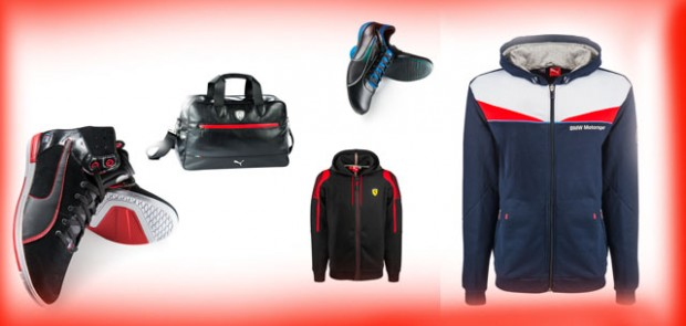 puma, bmw, ferrari, mercedes, partenaire, F1, mode, vêtement