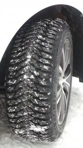 les Enjoliveuses, Goodyear, Tigne, essais, pneu hiver