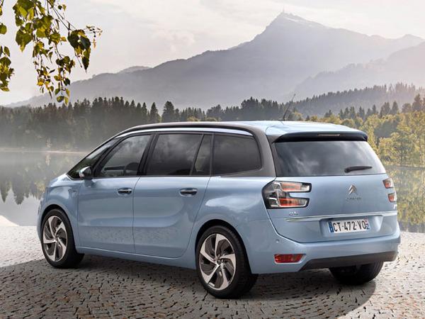 Citroën, Grand C4 picasso, monospace, monospace de l'année, meilleur monospace, voiture familiale,