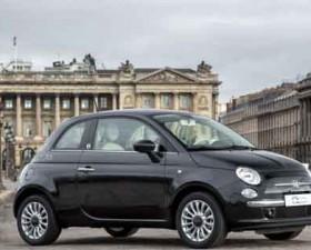 Fiat, 500, petite robe noire, guerlain, fiat 500 by guerlain, auto femme, tirendo, voiture féminine