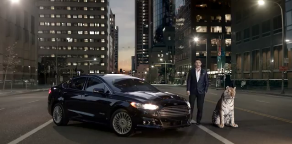 james franco, tigre, pub, ford, fusion,