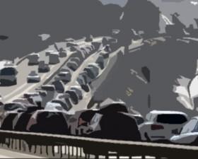 prévision, trafic, vacances d'hiver, week-end, vacances embouteillages, bison futé, bouchon