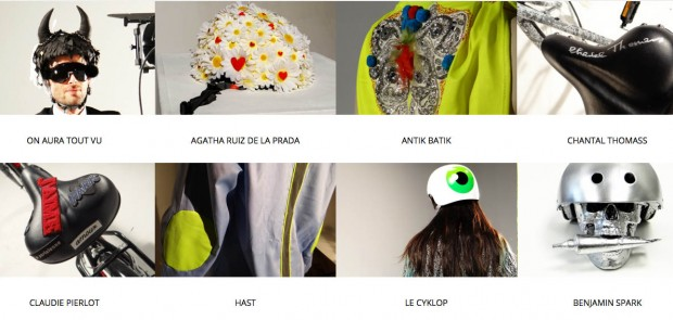 Velo Work Art, sécurité routière, exposition, artiste, gilet jaune, casque